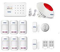 GSM сигнализация Kerui G18 для квартиры с беспроводной сиреной (JHSDFJ8DF)