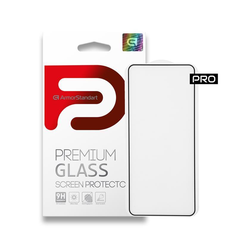 Защитное стекло Armorstandart Pro для Oppo Reno4 Lite Black, 0.33mm (ARM57578)