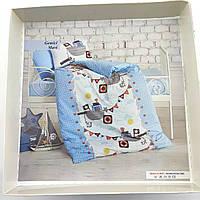 Постельное бельё для новорожденных в кроватку