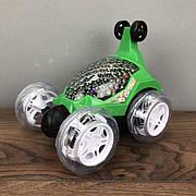 Трюковая машинка багги перевертыш Бен 10 Ben 10 машина на радиоуправлении пульте джип зеленая