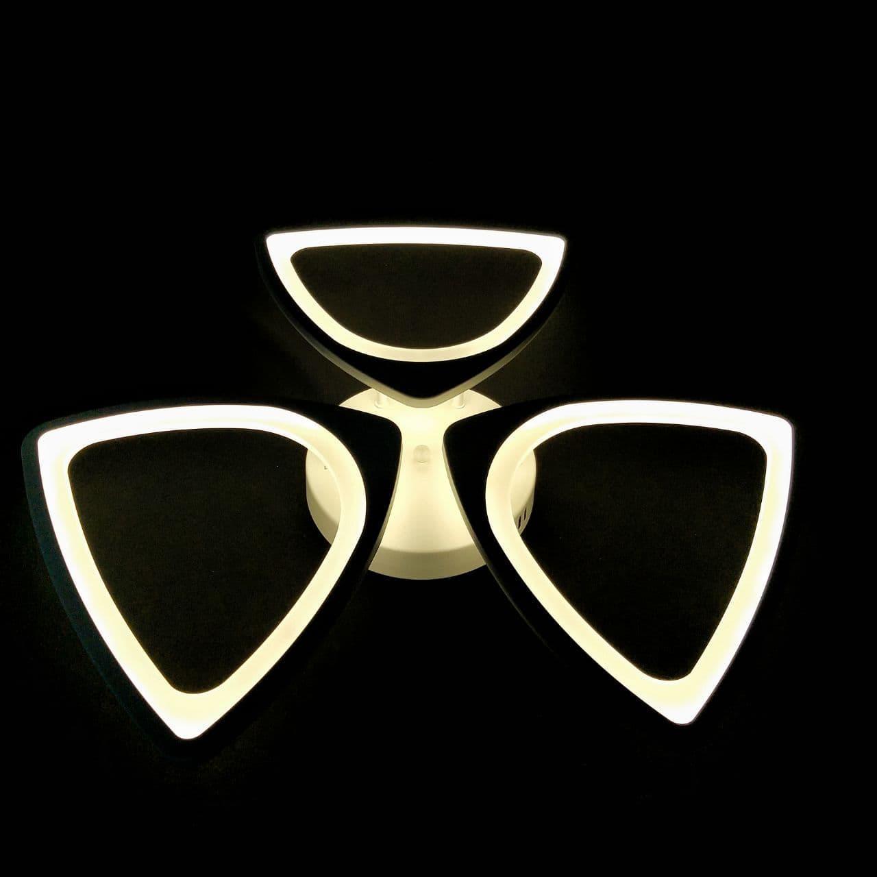 Люстра LED потолочная HJT-8011/3 WH 108W