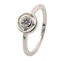 Серебряное кольцо DreamJewelry с фианитами (1145418) 16 размер, фото 1