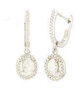 Серебряные серьги DreamJewelry с фианитами (1395486)