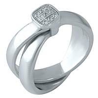 Серебряное кольцо DreamJewelry с фианитами (1957264) 17 размер