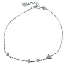 Срібний браслет на ногу DreamJewelry без каменів (1993958) 2326 розмір
