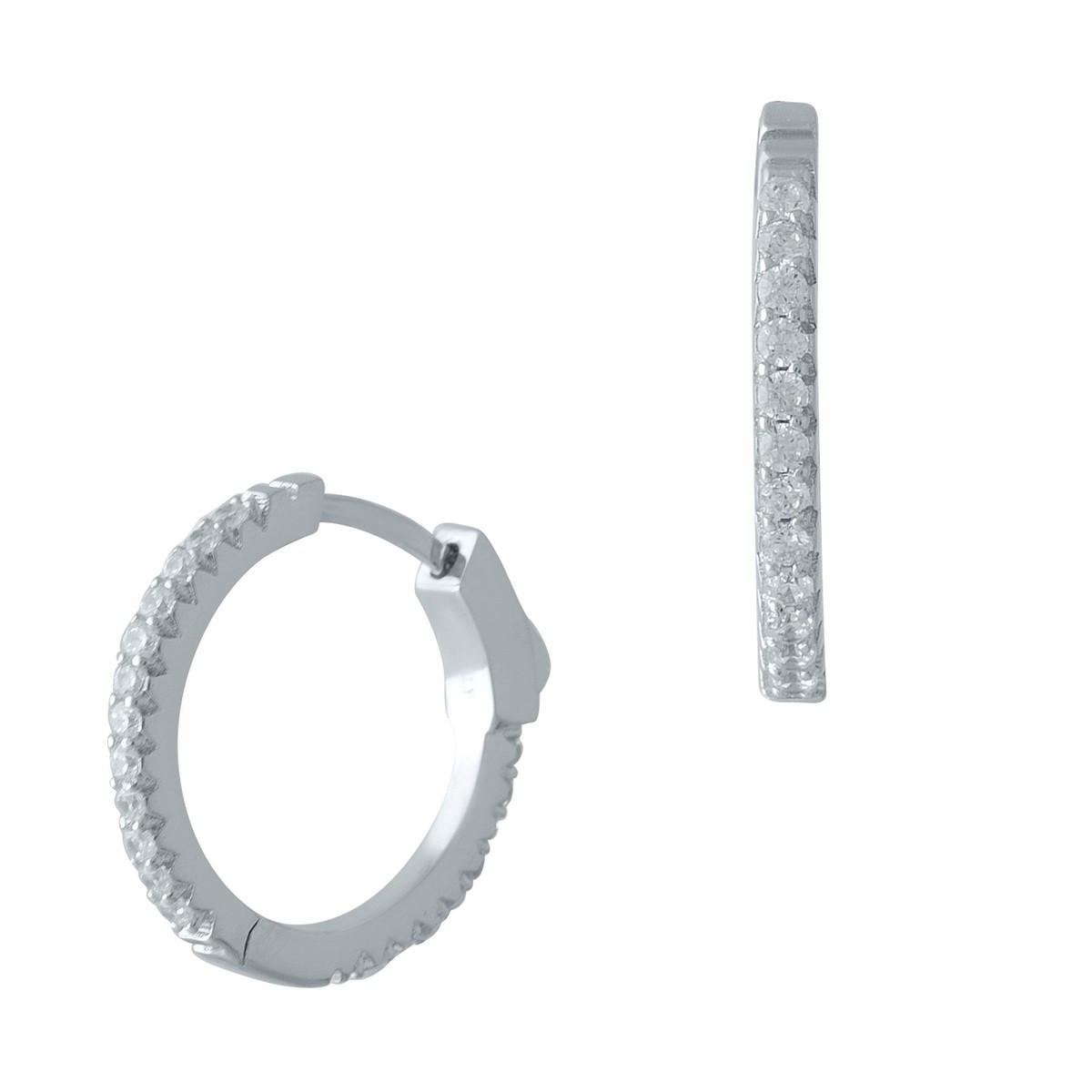 Серебряные серьги DreamJewelry с фианитами (1998441)
