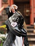 Женские  ботинки Dr. Martens x Lazy Oaf (+) черные (копия), фото 3