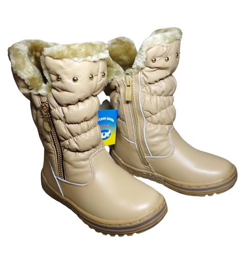 Зимові теплі чоботи від MXM, р. 28, устілка 17,5 см