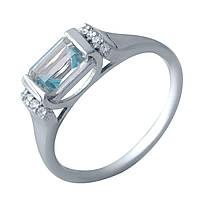 Серебряное кольцо DreamJewelry с натуральным топазом 3.347ct (2018995) 18 размер, фото 1