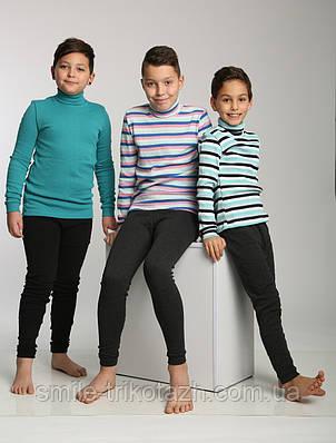 Гамаши детские,подростковые с начёсом, тёмно серые., фото 2