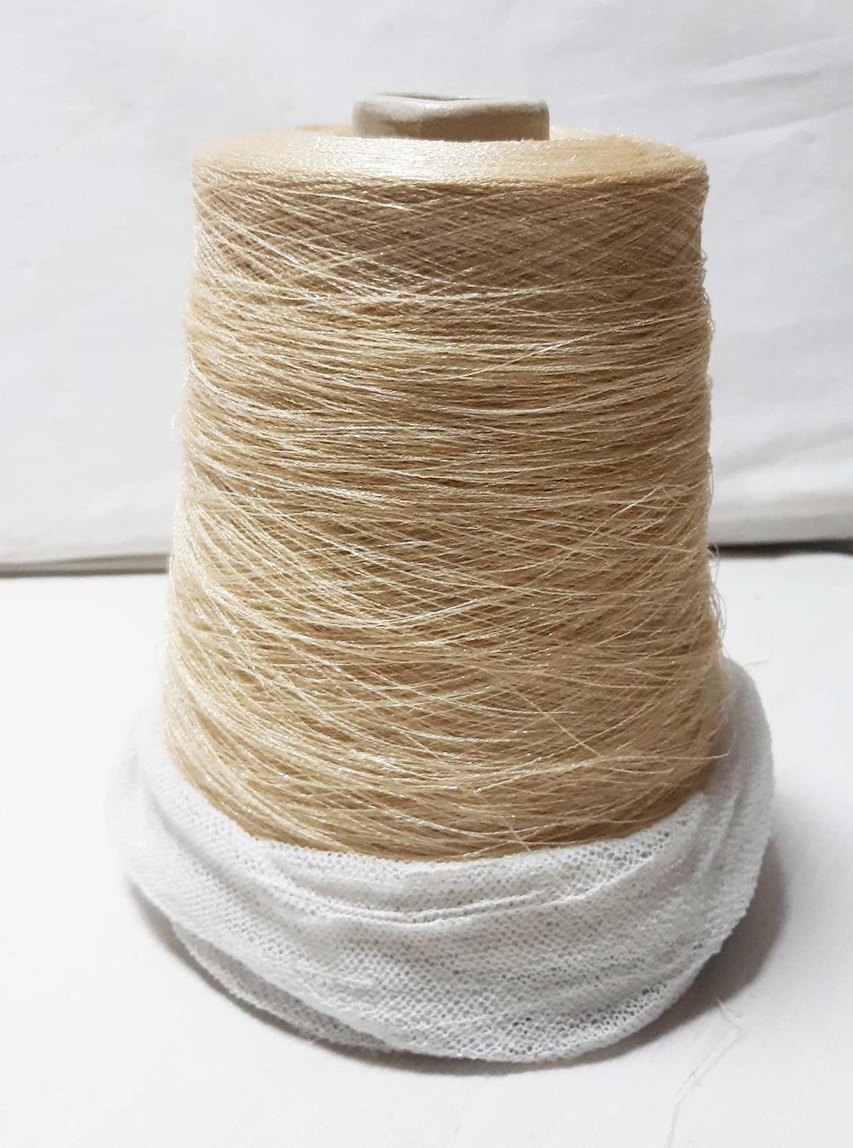 Пряжа бобинная Люрекс от Gruppo Filpucci цвет бежевый