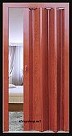 Двері гармошка Мербау Folding міжкімнатні , глухі, складні, розсувні, пластикові, приховані (без стела)