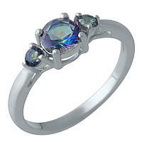 Серебряное кольцо DreamJewelry с натуральным мистик топазом (2005001) 18 размер, фото 1