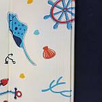 Вспененный детский развивающий коврик Children GO 180* 150 , двусторонний, с рисунками и текстурным покрытием, фото 4