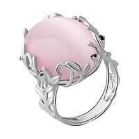 Серебряное кольцо DreamJewelry с кошачим глазом (2054276) 18 размер, фото 1