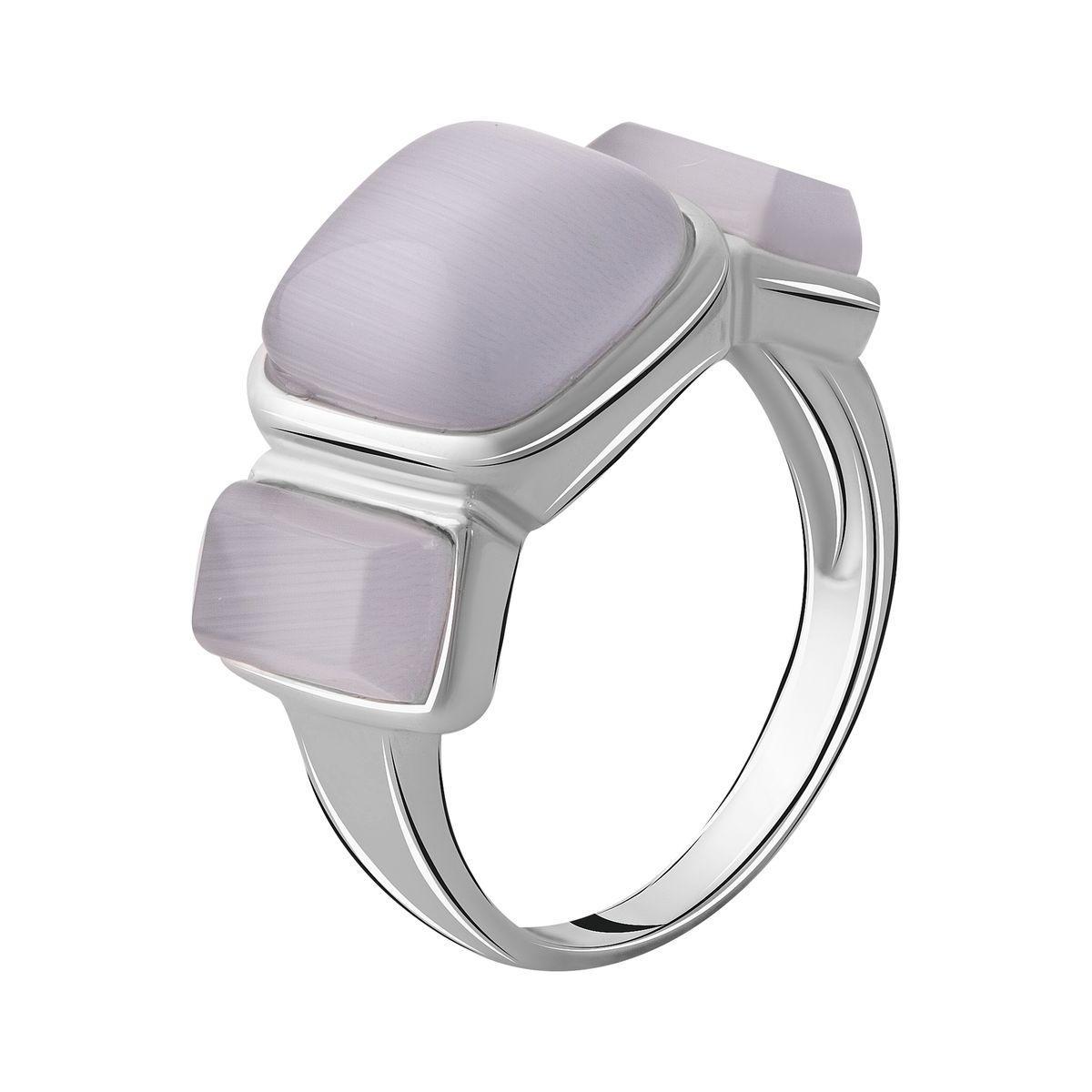 Серебряное кольцо DreamJewelry с кошачим глазом (2054474) 18 размер
