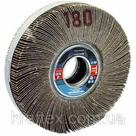 Круг шлифовальный лепестковый КШЛ 150х30х32 мм, P180