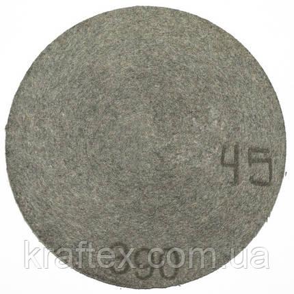 Круг полировальный войлочный Polystar Abrasive 351-400 мм, фото 2
