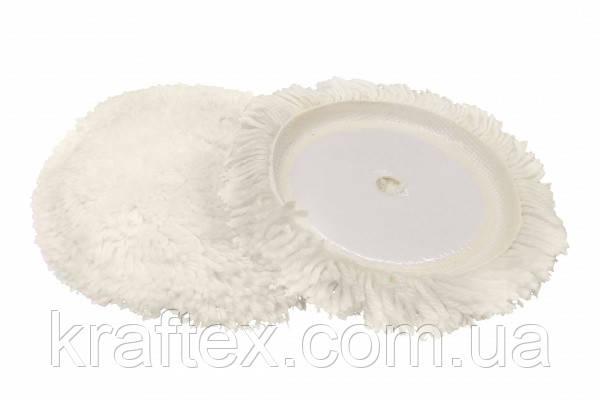 Шерстяной полировальный круг Polystar Abrasive d-230 мм, фото 2