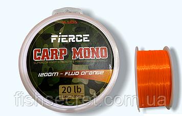 Рибальська волосінь Kaida Carp Mono fluo orange