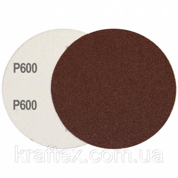 Круг шліфувальний на липучці Velcro Polystar Abrasive 125 мм, P600