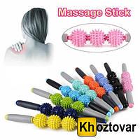 Ролик массажный для йоги Massage Stick