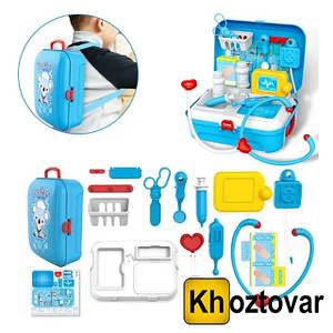 Портативный рюкзак Doctor Toy   17 предметов