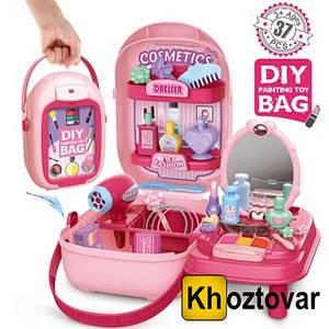 Портативный рюкзак Cosmetics Toy   37 предметов