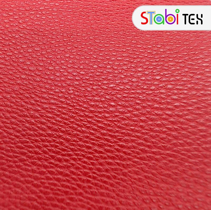 Искусственная кожа Натурель хавлу Красный