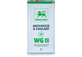 Антифриз Wolver WG11 зеленый 5л
