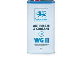 Антифриз Wolver WG11 синий 5л