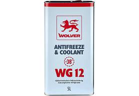 Антифриз Wolver WG12 красный 5л