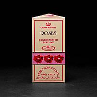 Масляные духи ROSES Al-Rehab (Розы Аль-Рехаб) - букет из чайных сладких роз 6 мл