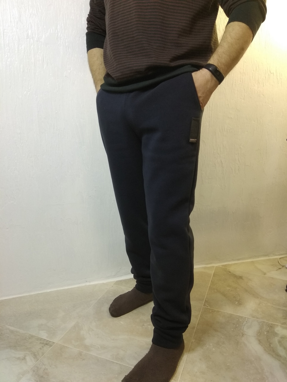 Спортивные штаны на манжетах мужские 50 размер