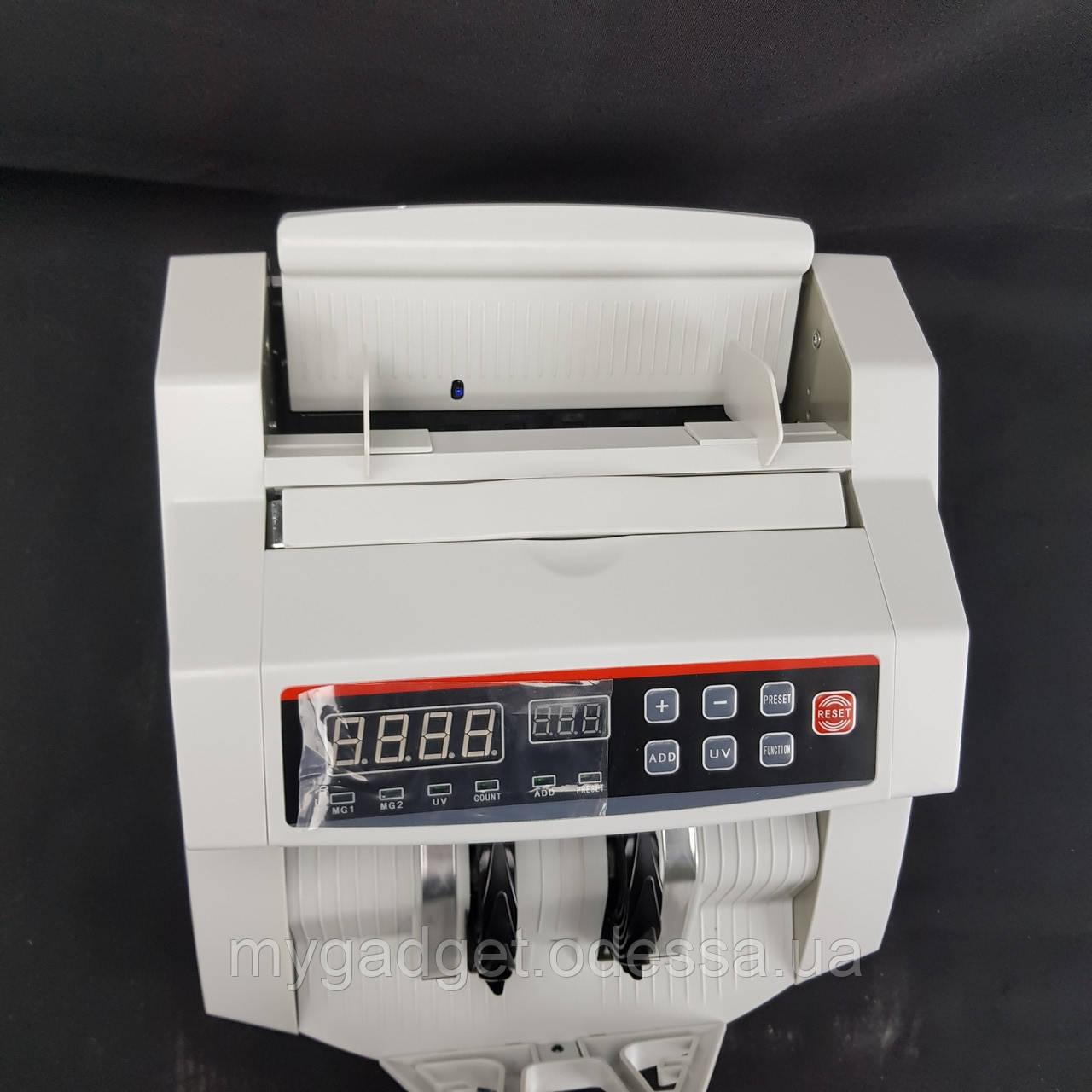 Счетная машинка с детектором банкнот BILL COUNTER 2108 Original   Машинка для счета денег, счетчик