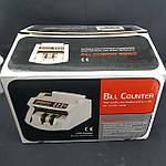 Счетная машинка с детектором банкнот BILL COUNTER 2108 Original   Машинка для счета денег, счетчик, фото 4