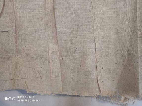 Уценка - Декоративная мешковина (джутовая) 290 г/м2, фото 2