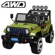 Детский электромобиль джип Jeep Wrangler M-3237