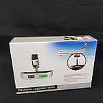 Универсальные электронные весы для багажа и прочего, фото 5