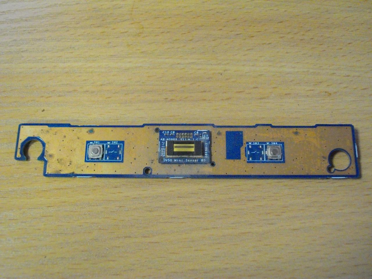 Плата с кнопками тачпада и сканером пальца 48.4CG02.011 Acer Aspire 5738ZG, 5338, 5738, MS2264