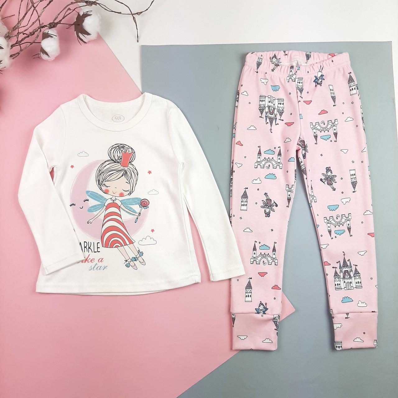 Детская пижама из хлопка 98, 104, 110, 116