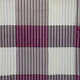 Плед-покрывало клетчатое рифленое Шарпей 150x200см микрофибра, фото 3