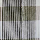 Покрывало-плед рифленое Полоска 200x230см микрофибра, плед евроразмер, фото 2