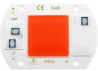 LED светодиод 20Вт 220В - полный спектр, фитолампа, фото 1