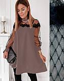 """Женское вечернее платье-трапеция с кружевом """"Grace В И, фото 2"""