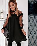 """Женское вечернее платье-трапеция с кружевом """"Grace В И, фото 4"""