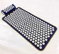 Аплікатор Кузнєцова масажний акупунктурний килимок з подушкою масажер для спини/ніг OSPORT (n-0004)