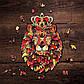 Деревянные пазлы Лесное королевство Король лев 28.5х33 см 356 деталей Деревянный пазл Forest Kindom Храбрый, фото 3