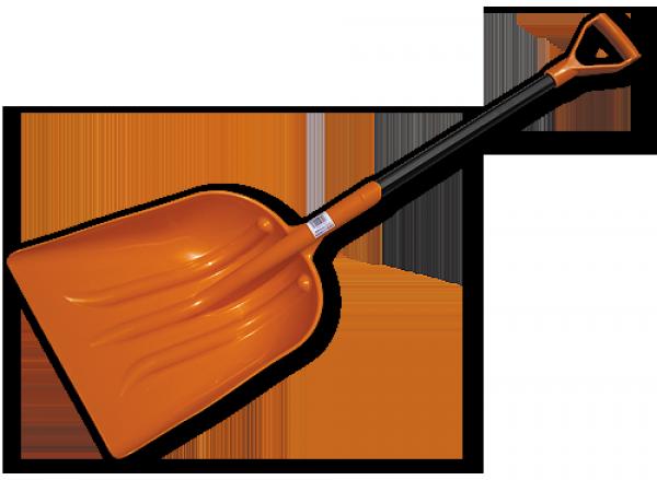 Лопата универсальная, пластиковая с металлическим черенком, KT-CXG809-M, фото 2