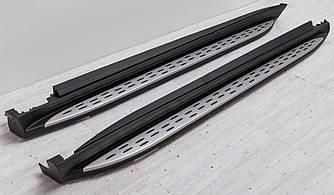 Подножки Mercedes GL X166 пороги ступеньки площадки